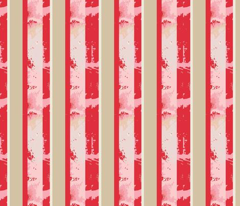 Lily Elephant stripes fabric by karenharveycox on Spoonflower - custom fabric