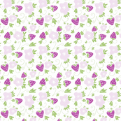 fresas pastel purple