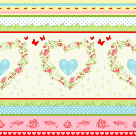 Countryside fabric by yaskii on Spoonflower - custom fabric