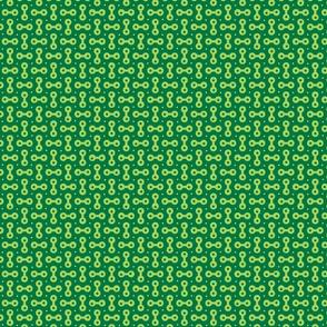 dumbbells - green