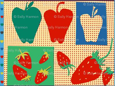 Apples & Strawberries