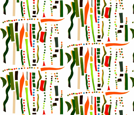 Carmen's Collage fabric by boris_thumbkin on Spoonflower - custom fabric