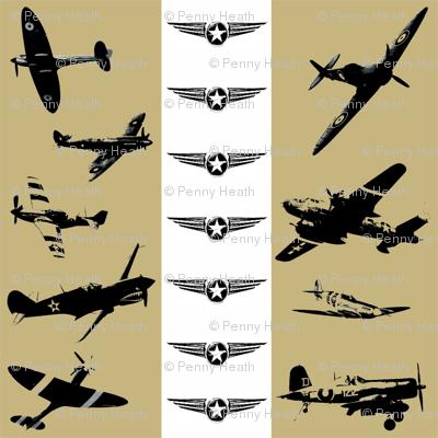 Retro Aviator Stone Stripe