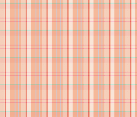 sweet_peach fabric by xoelle on Spoonflower - custom fabric