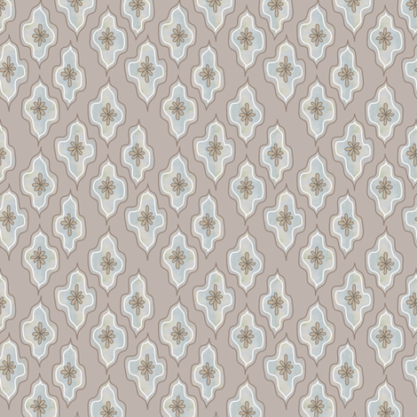dappled lozenge - mink fabric by fox&lark on Spoonflower - custom fabric