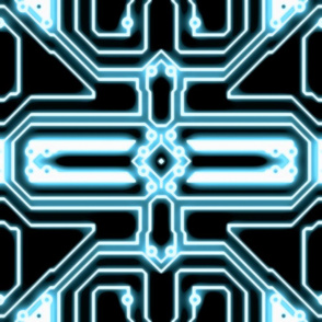 ELECTron - Blue / Black - Mirrored