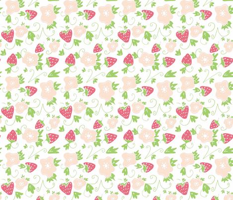fresas pastel pink