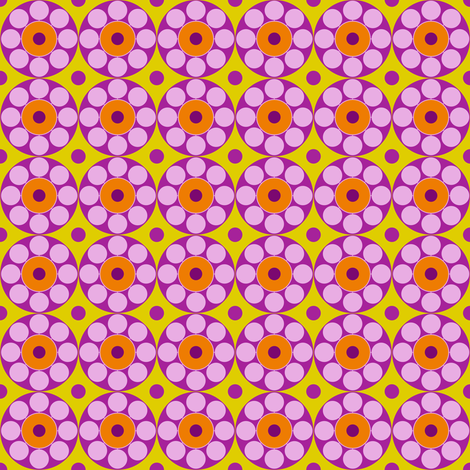 Concentric Pink fabric by brainsarepretty on Spoonflower - custom fabric