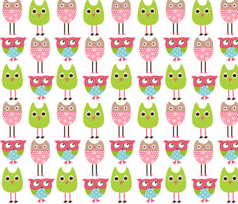 Owlsfab fabric by natitys on Spoonflower - custom fabric