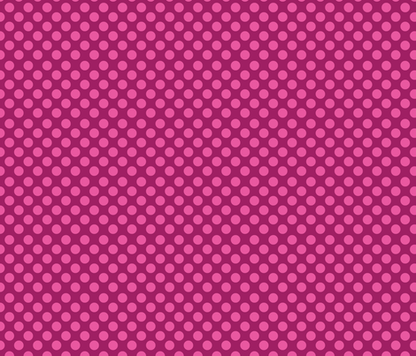 dots-pinkonpink fabric by terriaw on Spoonflower - custom fabric