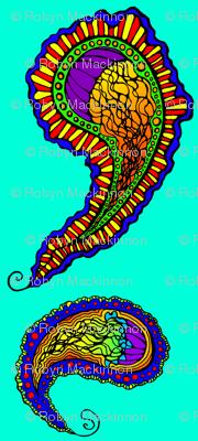 Jellyfish Paisley