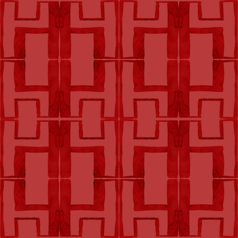 cestlaviv_h2inch red fabric by cest_la_viv on Spoonflower - custom fabric