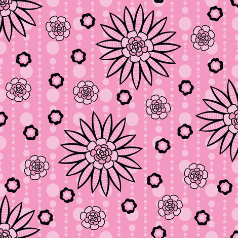 Spring Garden Party fabric by robyriker on Spoonflower - custom fabric