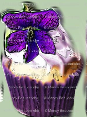 Violet Cupcakes by mandybeau