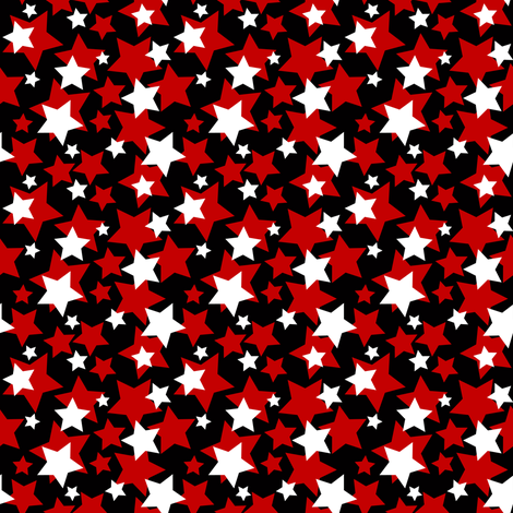 Derby Stars in 3 Colors fabric by vo_aka_virginiao on Spoonflower - custom fabric