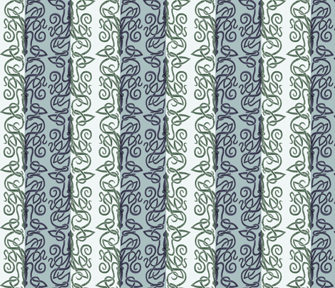 Dr. Kraken and Mr. Squid fabric by wren_leyland on Spoonflower - custom fabric