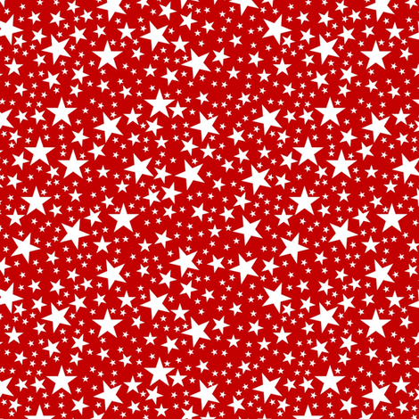Chock full of stars fabric by vo_aka_virginiao on Spoonflower - custom fabric