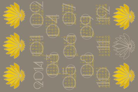 2014 Art Deco calendar