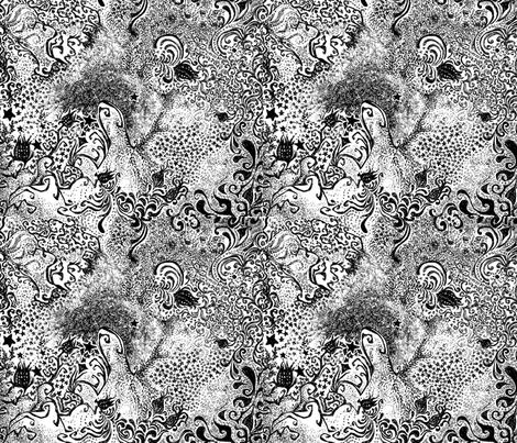 mystery fabric by jellybellyfish on Spoonflower - custom fabric