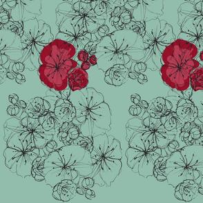 Sketched Flower