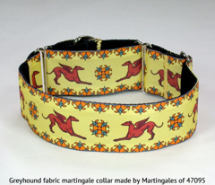 Greyhound Collar Fabric swatches ©2013 by Jane Walker