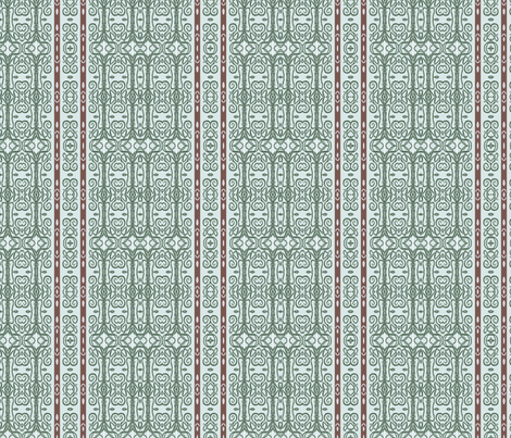 Ancient Mycenaean Mastery  fabric by wren_leyland on Spoonflower - custom fabric