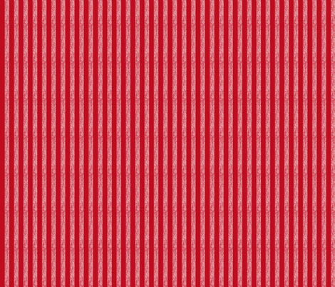 Snowy Stripe Vertical fabric by karenharveycox on Spoonflower - custom fabric