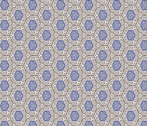 Mycenaean Madness fabric by wren_leyland on Spoonflower - custom fabric