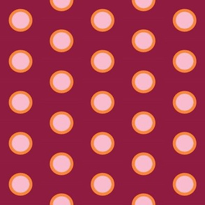 Pink Citrus Polka on Berry