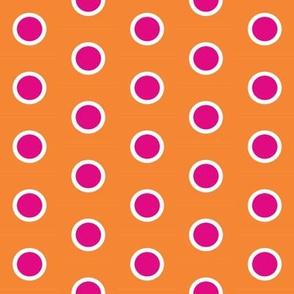 Frosty Pink Polka on Mandarin
