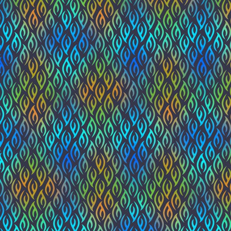 Night_Flame_2 fabric by glimmericks on Spoonflower - custom fabric