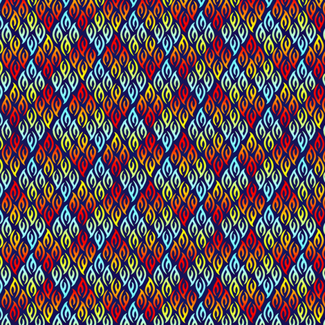NIGHT_FLAME PRIMARIES fabric by glimmericks on Spoonflower - custom fabric