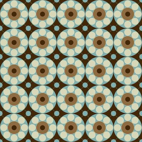 Concentric Turquoise