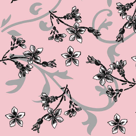 paris original jasmine fabric by paragonstudios on Spoonflower - custom fabric