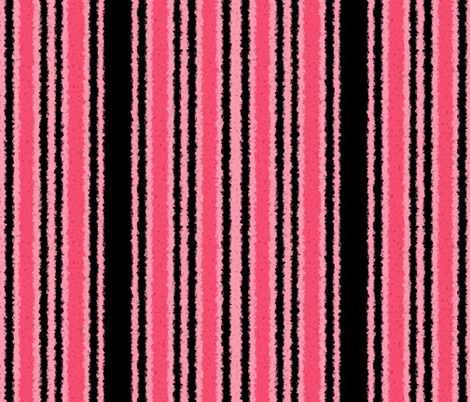 Paris Stripe ~ Tres Messy fabric by peacoquettedesigns on Spoonflower - custom fabric