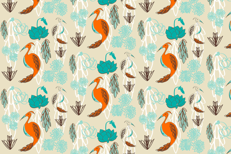 Palm Springs fabric by fable_design on Spoonflower - custom fabric