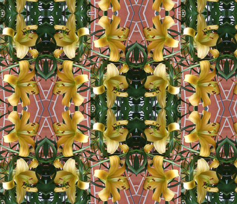 8_LILIES fabric by oceanpeg on Spoonflower - custom fabric