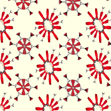 RedDresses Final fabric by twilfley on Spoonflower - custom fabric