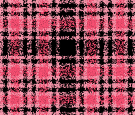 Paris Stripe Boucle Plaid fabric by peacoquettedesigns on Spoonflower - custom fabric