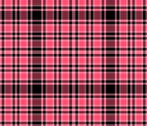 Paris Plaid fabric by peacoquettedesigns on Spoonflower - custom fabric
