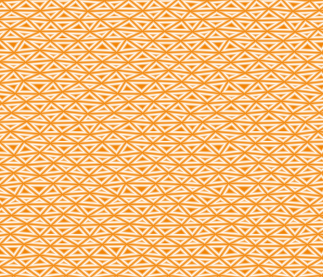 Orange Oh my Darling fabric by feebeedee on Spoonflower - custom fabric