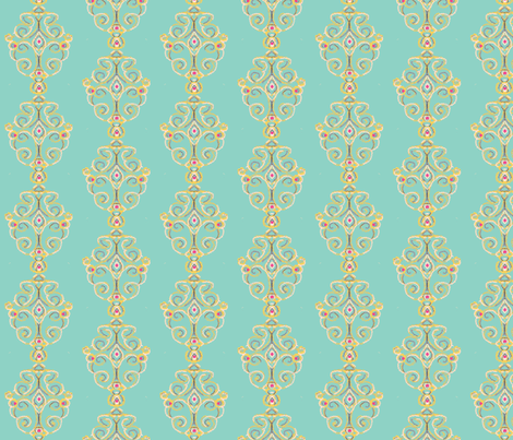 Icefairy Ballroom fabric by kerryn on Spoonflower - custom fabric