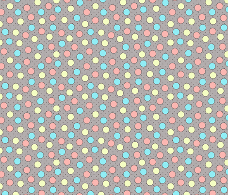 BEAU_FLEUR_spots_candy fabric by glorydaze on Spoonflower - custom fabric