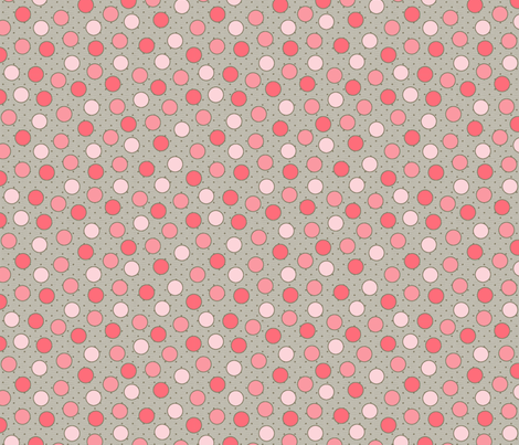 BEAU_FLEUR_spots_sauman fabric by glorydaze on Spoonflower - custom fabric
