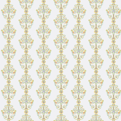 snowfairy Ballroom fabric by kerryn on Spoonflower - custom fabric