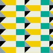 Crispijn Yellow & Aqua