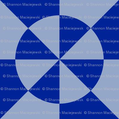 Mosaic (Blue/Violet)