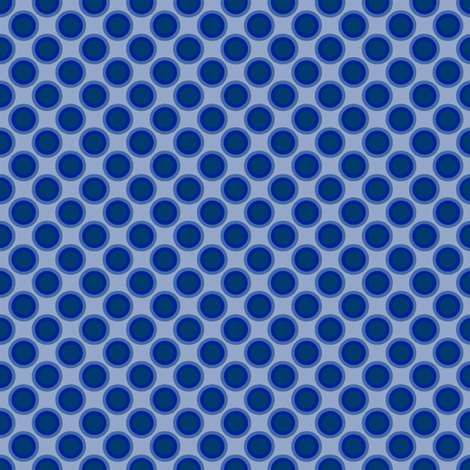 Dotty Dots (Blue/Violet) fabric by shannonmac on Spoonflower - custom fabric