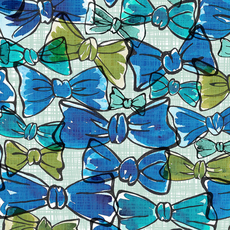 Sylvia fabric by papermoonpatterns on Spoonflower - custom fabric