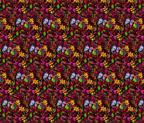 botanoca2 fabric by daisydawn on Spoonflower - custom fabric
